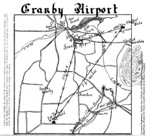 Plan Granby Airport 1929