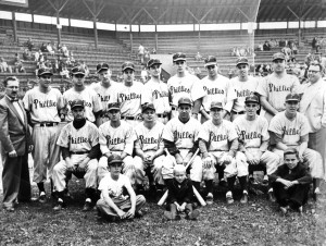 Les Phillies de Granby, 1952