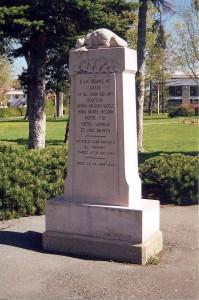 Monument de la Société Saint-Jean-Baptiste de Granby