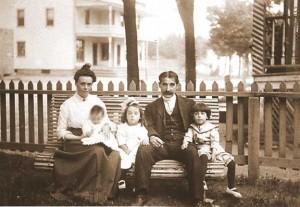 Famille du Dr Émile Labelle et Rose-Anna Bienvenu