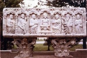 Sarcophage romain à Granby