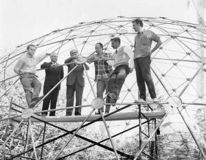 dôme géodésique