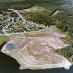 Le parc Daniel Johnson, en 1980, Granby, lac Boivin