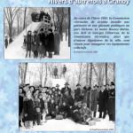 Au cours de l'hiver 1945, la Commission récréative de Granby installe une patinoire et une glissade publiques au parc Victoria.