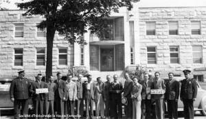 La Chambre de commerce des jeunes de Granby, 1942