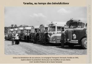 Bénédiction des autobus Verreault