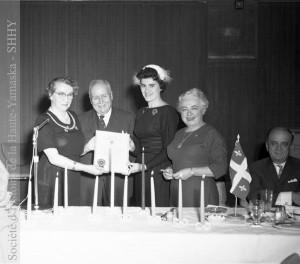 Fondation du Club des femmes d'affaires de Granby, 1959 (fonds Jean-Paul Matton, SHHY)
