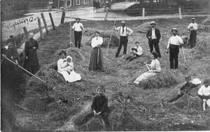 Cultivateurs de Frelighsburg (SHHY, carte postale)